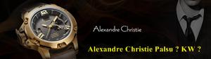 Alexandre Christie Palsu atau KW
