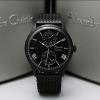 Jam Tangan AC 6437MEAB All Black Alexandre Christie Pria