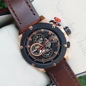 Jam Tangan AC 6491MCLBRBR Alexandre Christie Pria